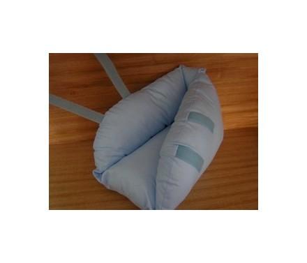 Talonera borrego antiescaras azul