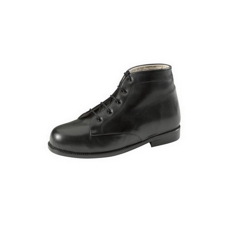 Bota aparatos unisex color negro