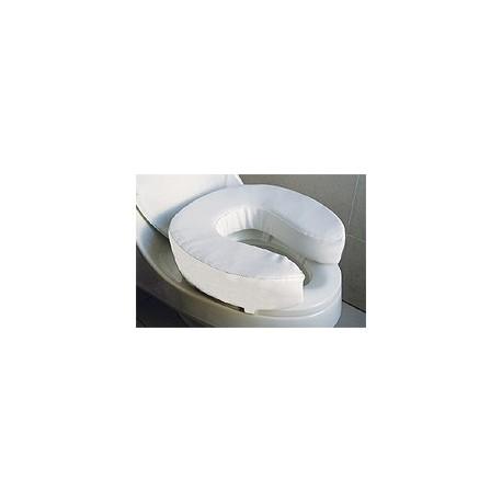 Alza de inodoro y cubierta blanda 10 cm