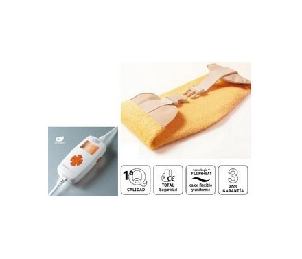 Almohadilla eléctrica abdominal-lumbar DAGA