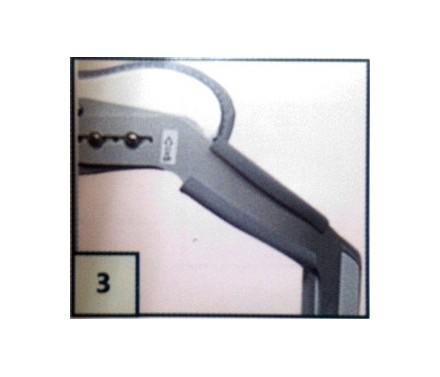 Protector para bandas metálicas de ortesis de hiperextensión
