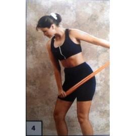 Banda elástica ejercicio verde nivel 3