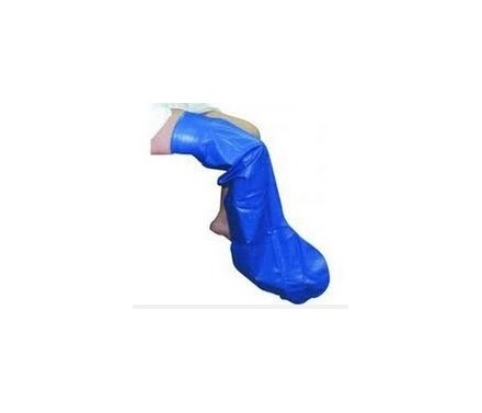 Cubre escayola pierna entera talla grande.