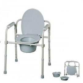 "Silla de wc plegable ""Casa"""