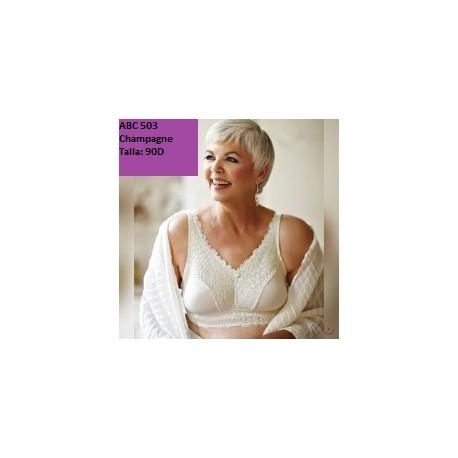 Sujetador especial para prótesis mamaria varias tallas y colores
