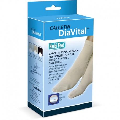 Calcetín especial para pies sensibles, pie de riesgo y pie diabético