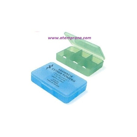Pastilleros rectangulares