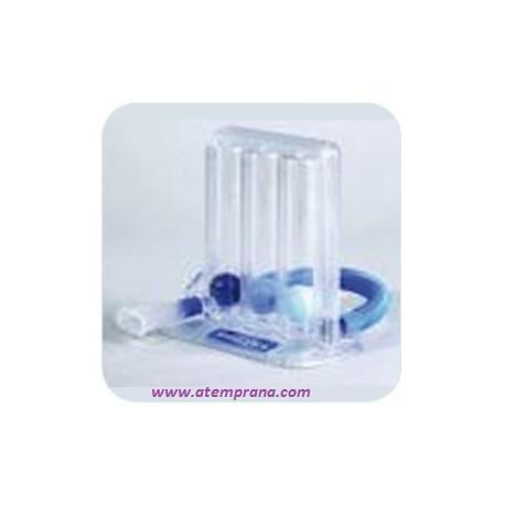 Expirómetro triflo aparato de respiración
