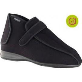 Zapato pie diabetico con abertura total