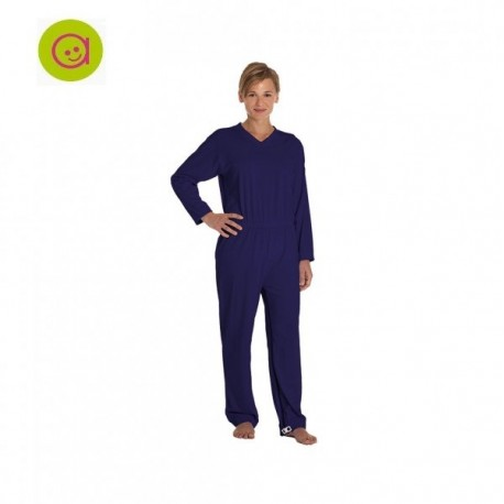 Pijama antipañal Body dos cremalleras
