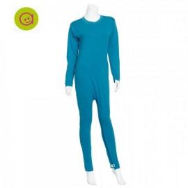 Pijama antipañal dos cremalleras colores