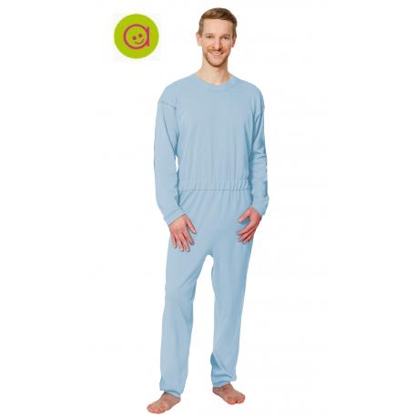 Pijama completo con crem. espalda