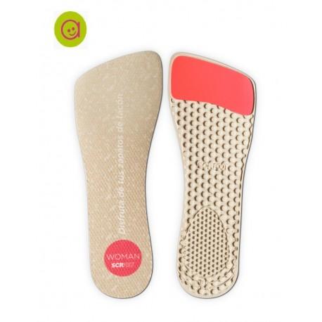 Plantillas para zapatos de tacón