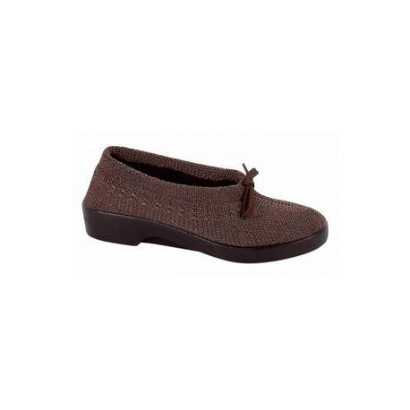 Zapato señora de malla con borreguito