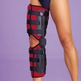 Inmovilizador de rodilla post-quirúrgico