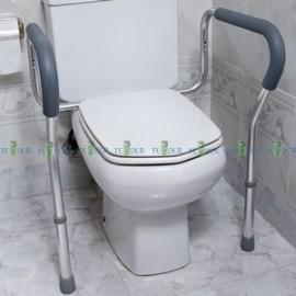 Apoyabrazos para wc de aluminio