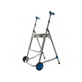 Andador aluminio con asiento