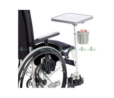 Mesa auxiliar para silla de ruedas