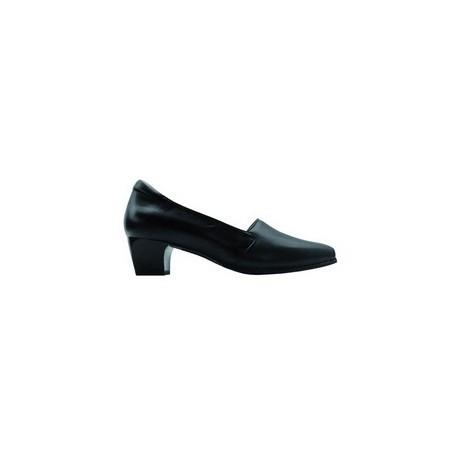 Zapato señora diabético negro