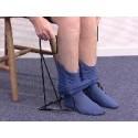 Pone-pantys de compresión para dos piernas