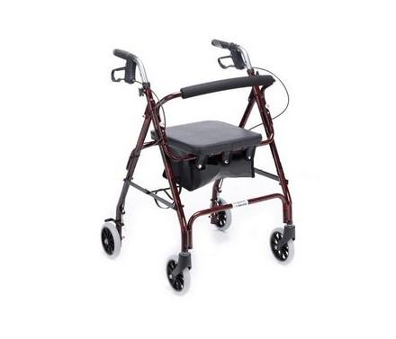 Andador 4 ruedas con freno ALCALA