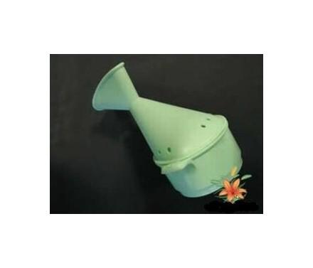 Inhalador respirador de plástico