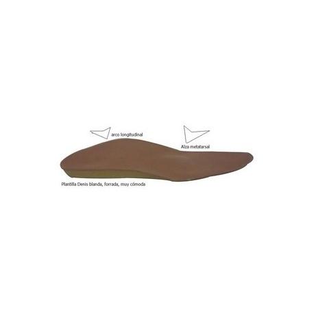Plantilla Denis BLANDA con arco y almendra metatarsal