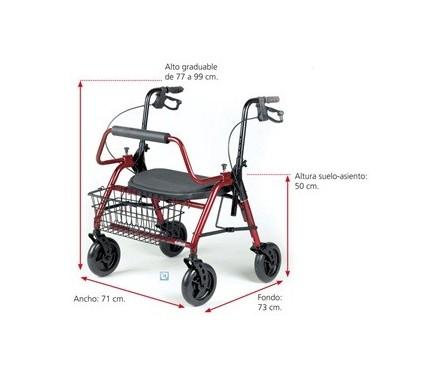 Andador 'Maxi Rolator XL'
