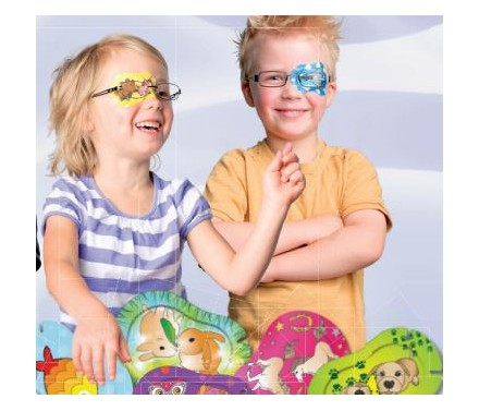 Parches oculares Ortopad Mix 100 uds