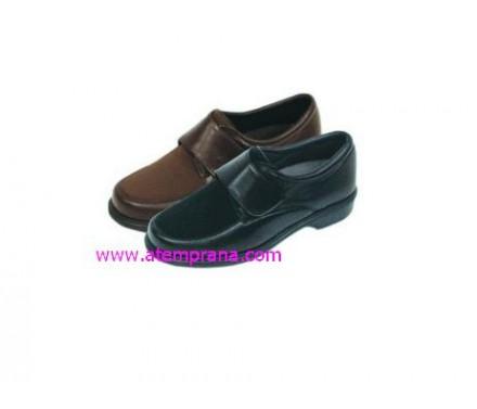 Zapato unisex con velcro y elástico en la zona de los juanetes