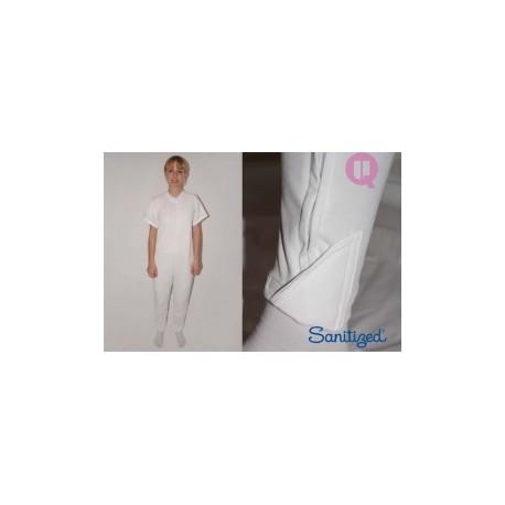 Pijama antipañal brazo corto y pierna larga