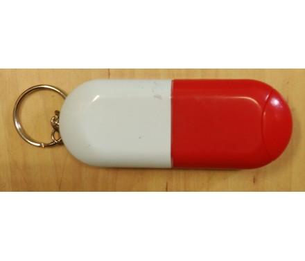 Pastillero en forma de capsula
