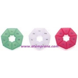 Pastillero heptagonal