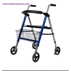 """Andador """"OGI-ROLL PRO"""" con cesta"""
