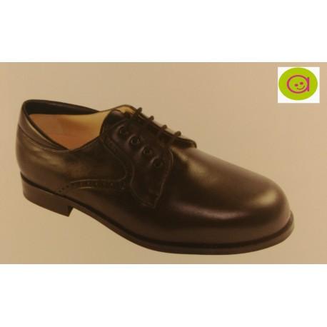 Zapato de piel de señor con cordón