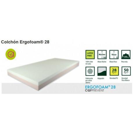 Colchón Ergofoam® 28
