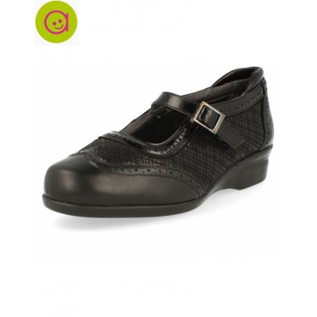 Zapato velez e1 negro