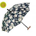 Paraguas bastón estampados