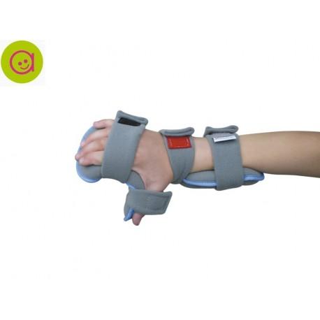Órtesis infantil funcional de la mano