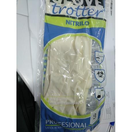 Guantes nitrilo blanco