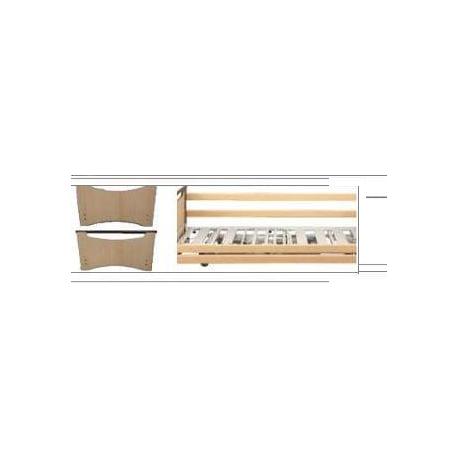 Paneles + barandillas madera Carmen II